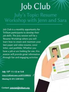 July Job Club